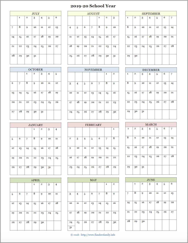 Mailbag Monday: More Academic Calendars (2019-2020) - Flanders