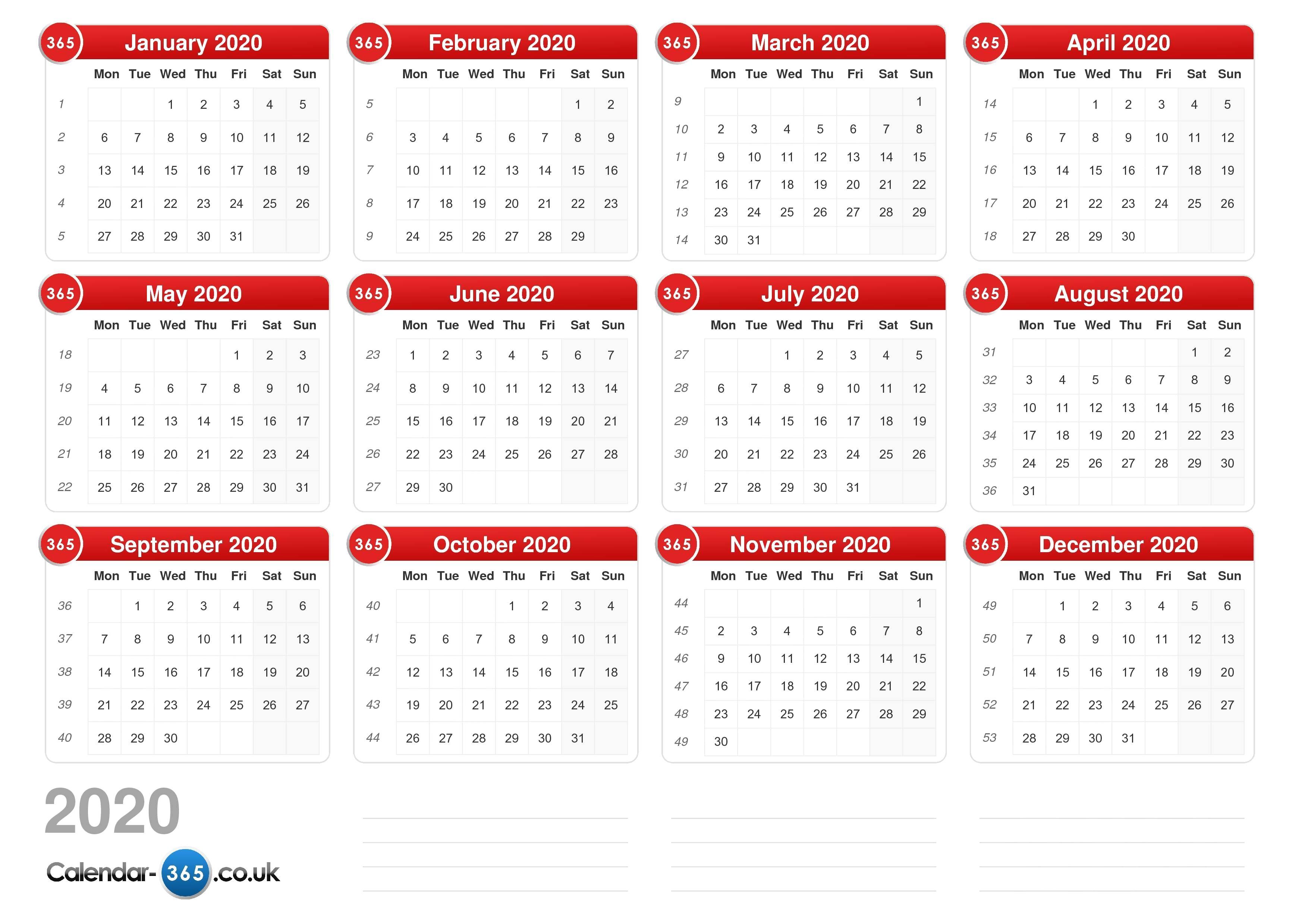 March 2020 Lunar Calendar