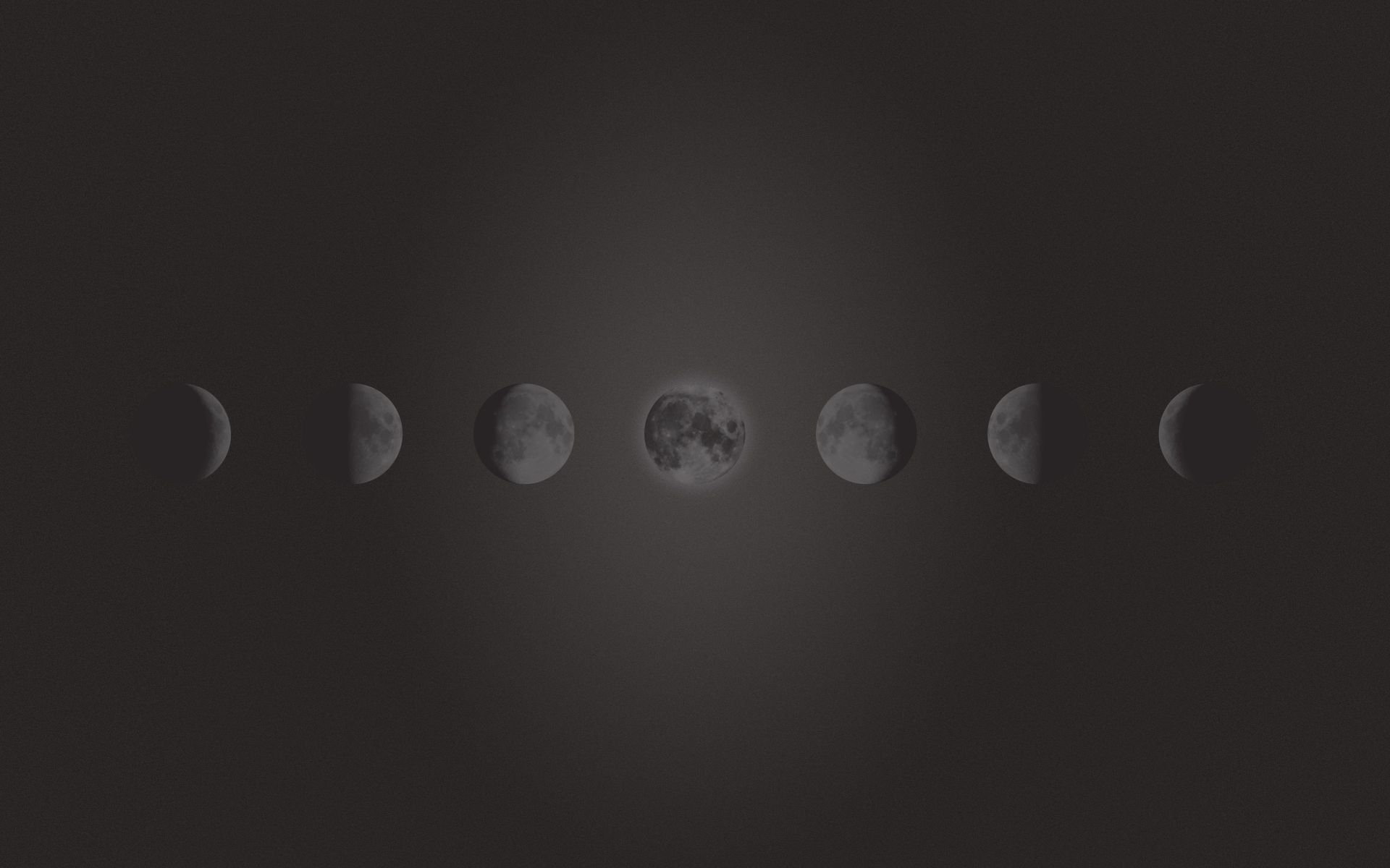 Moon Phases Desktop Wallpaper