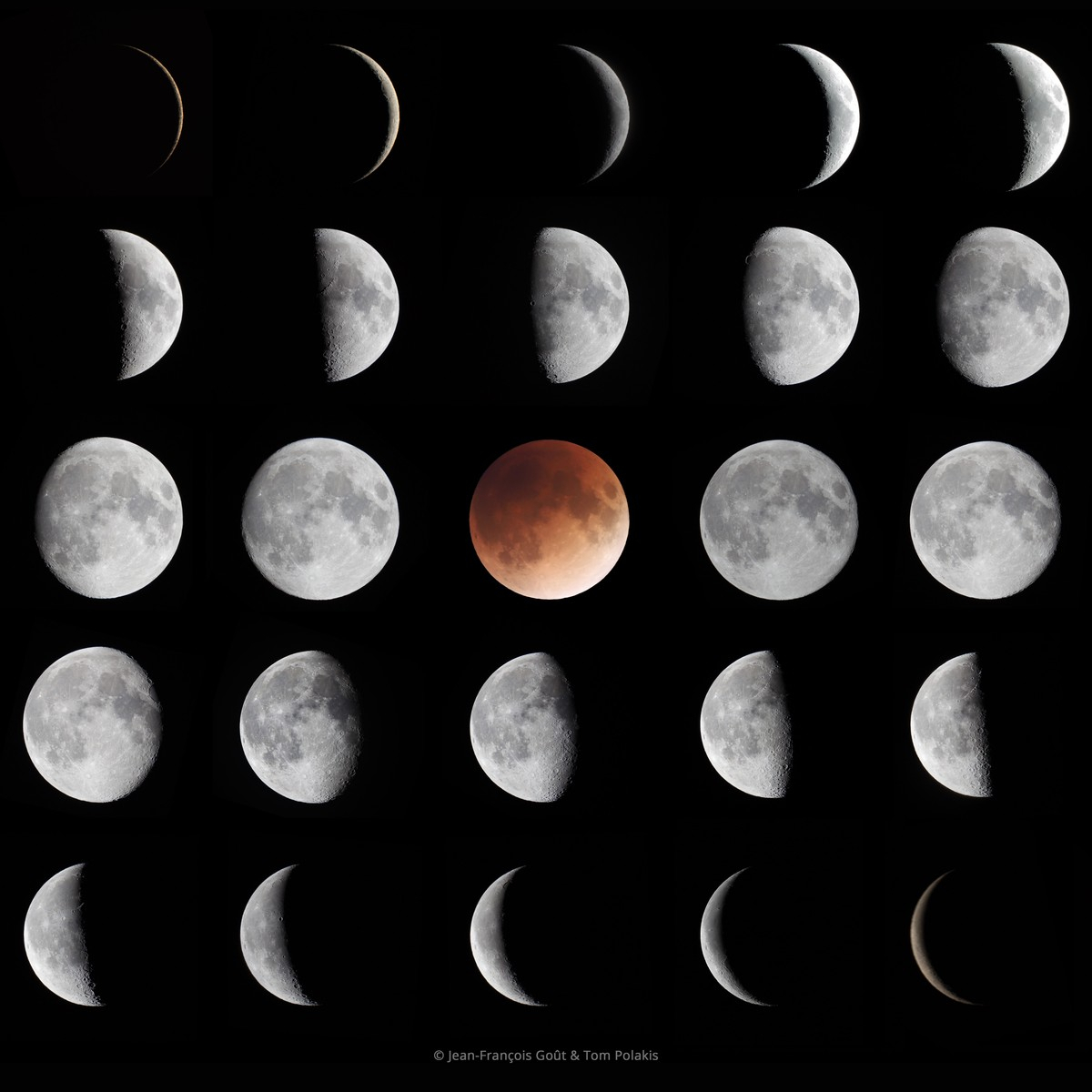 Moon Phases Of March
