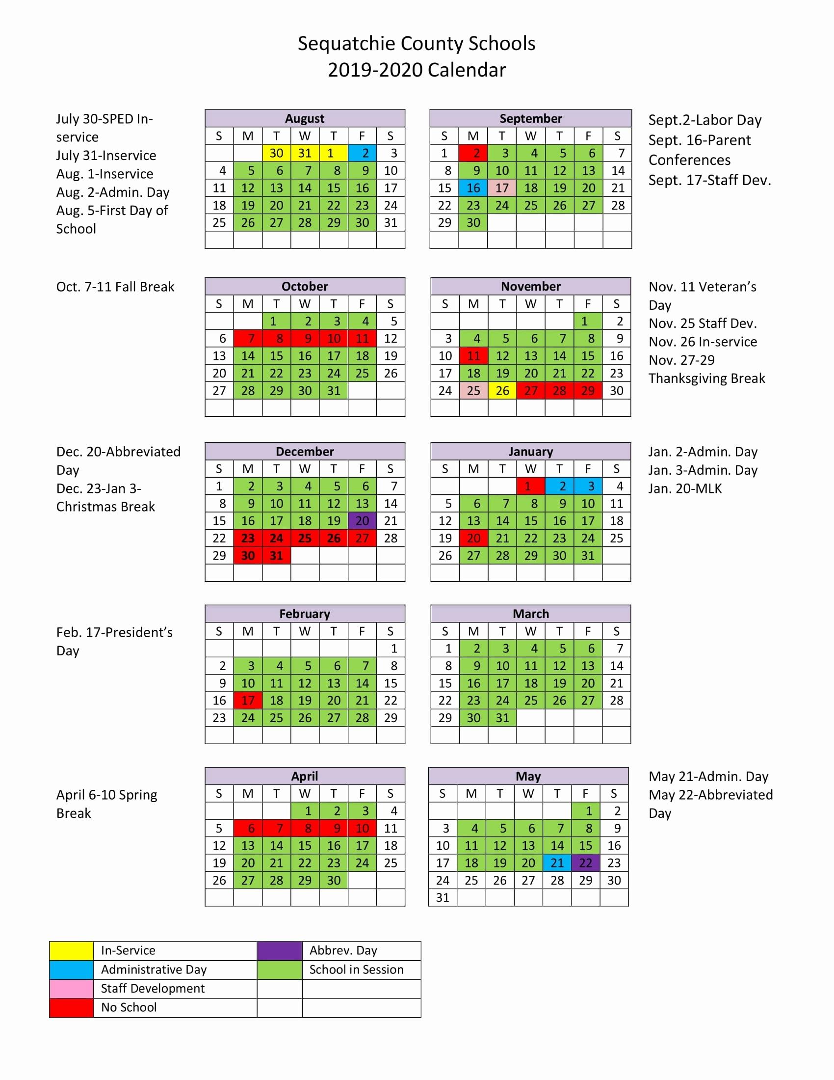 Mr. Mccluskey's Class Lausd 2020 Calendar – Get Your Calendar Printable