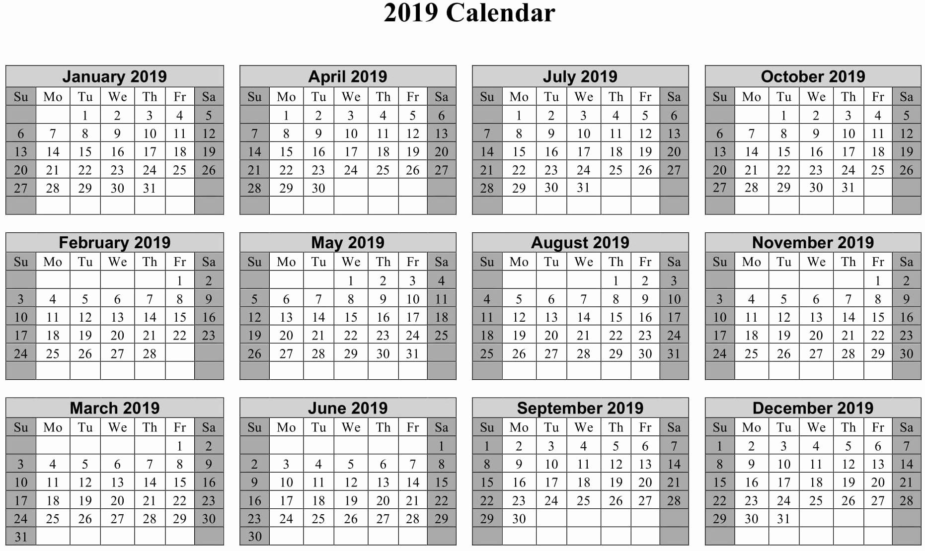 Nypd Rdo Calendar 2019 2020 Calendar Multiple Years Calendar