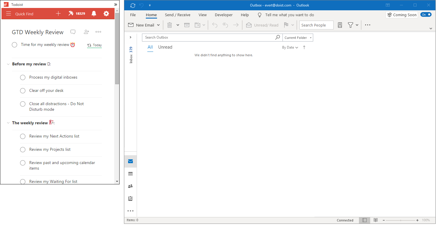 Outlook Calendar Blank Space Right