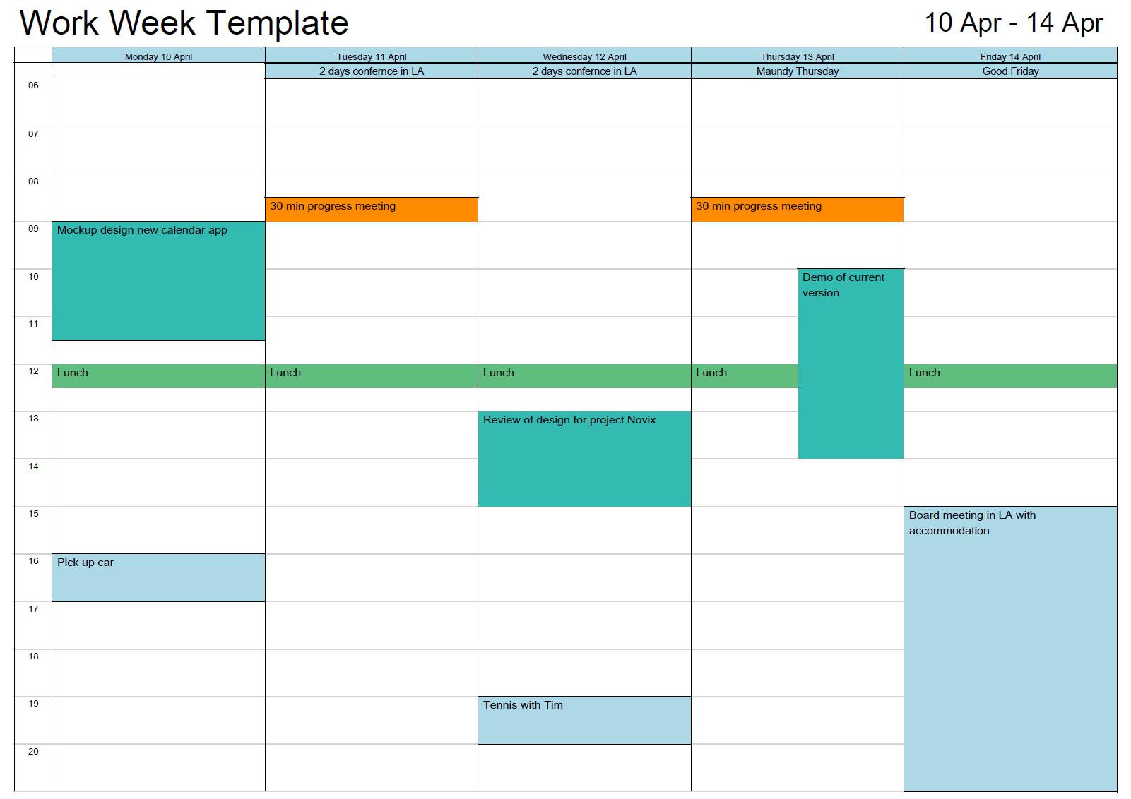 Outlook Printable Calendar In A4/a3