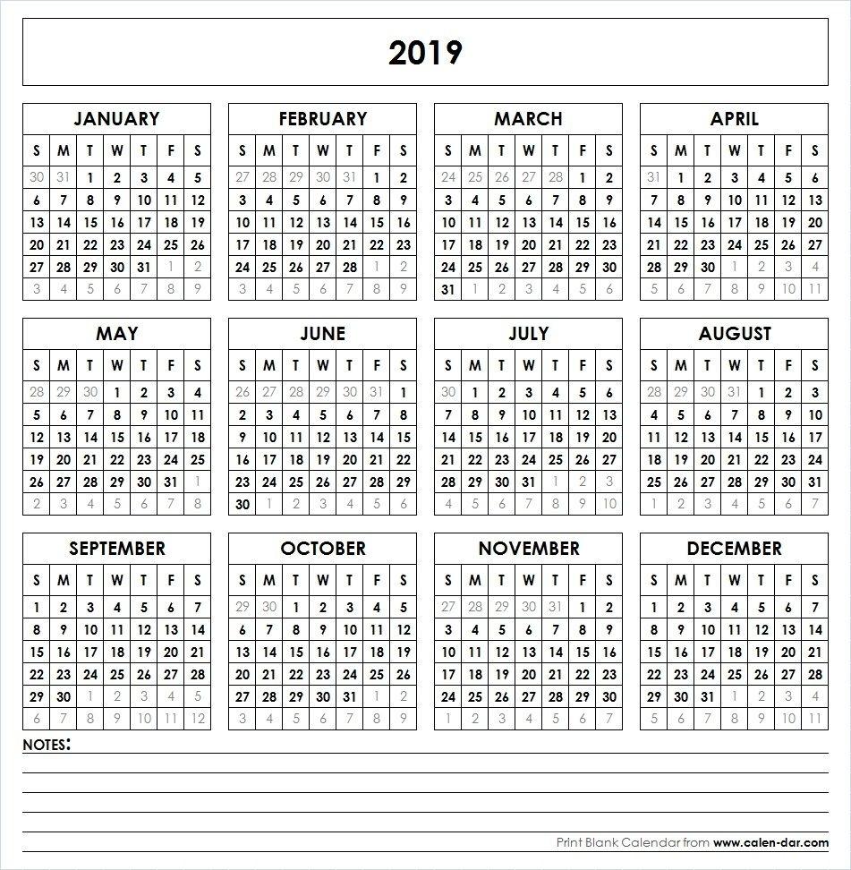 Perky 2020 Calendar With Date Boxes • Printable Blank Calendar Template