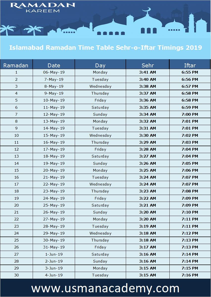 Peshawar Ramadan Timings 2020 Download Calendar Peshawar Ramazan