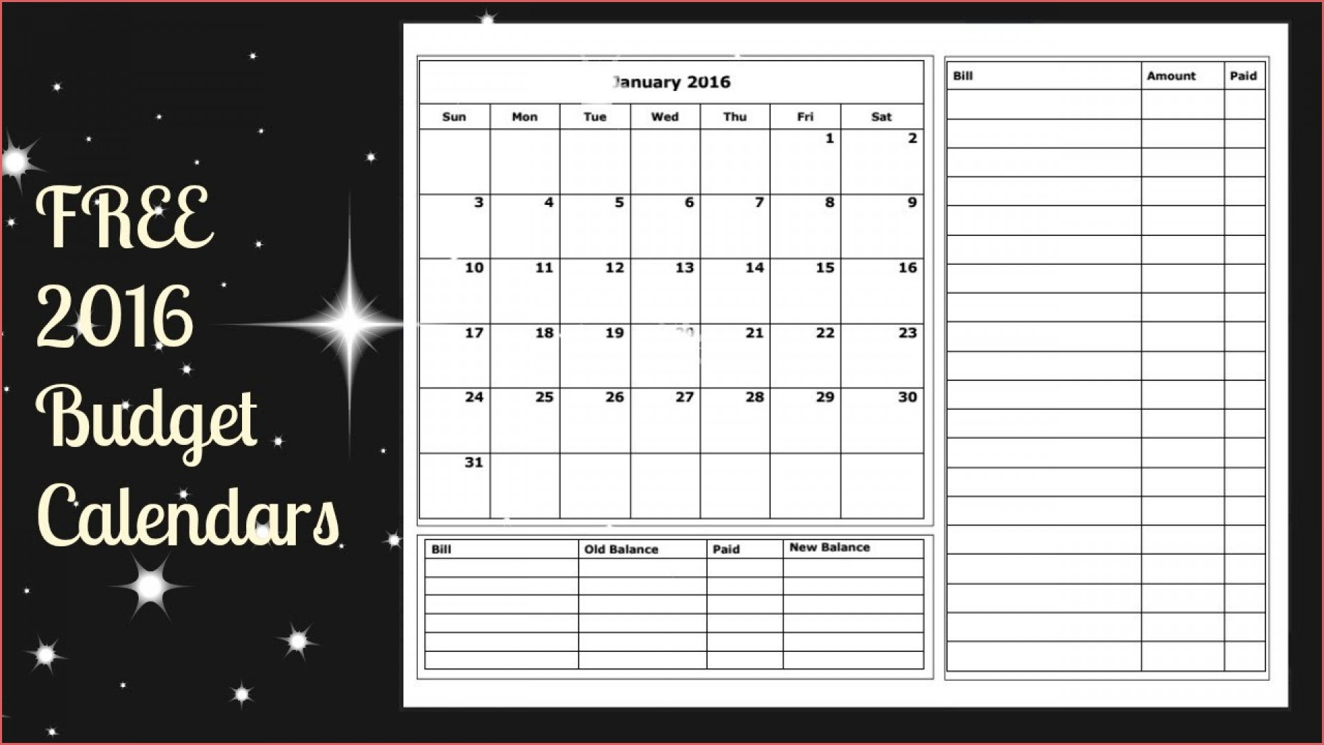 Phenomenal Budget Calendar Template Plan Templates Weekly Monthly
