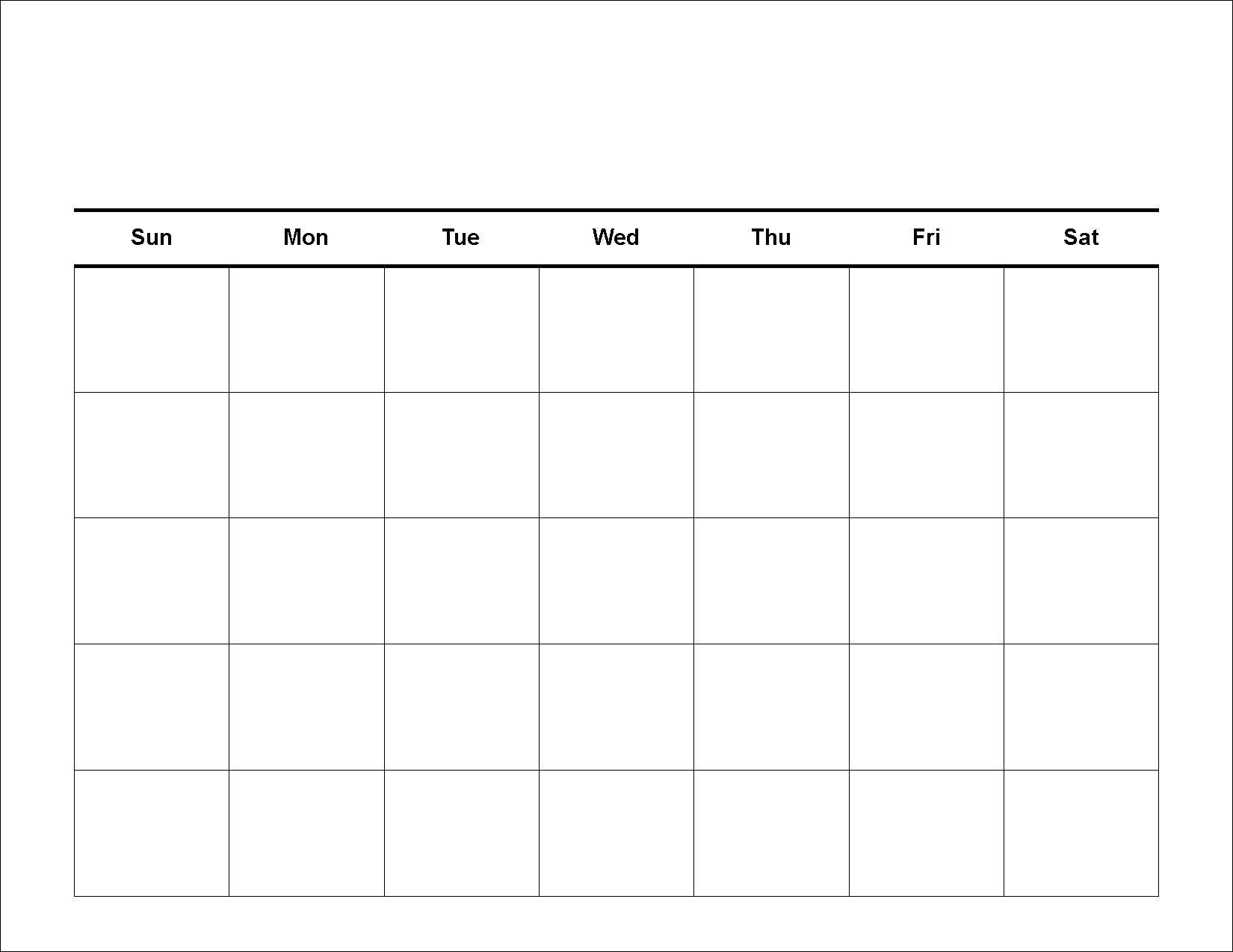 Printable Week Ar Schedule Template Grid Leonescapersco Free Blank