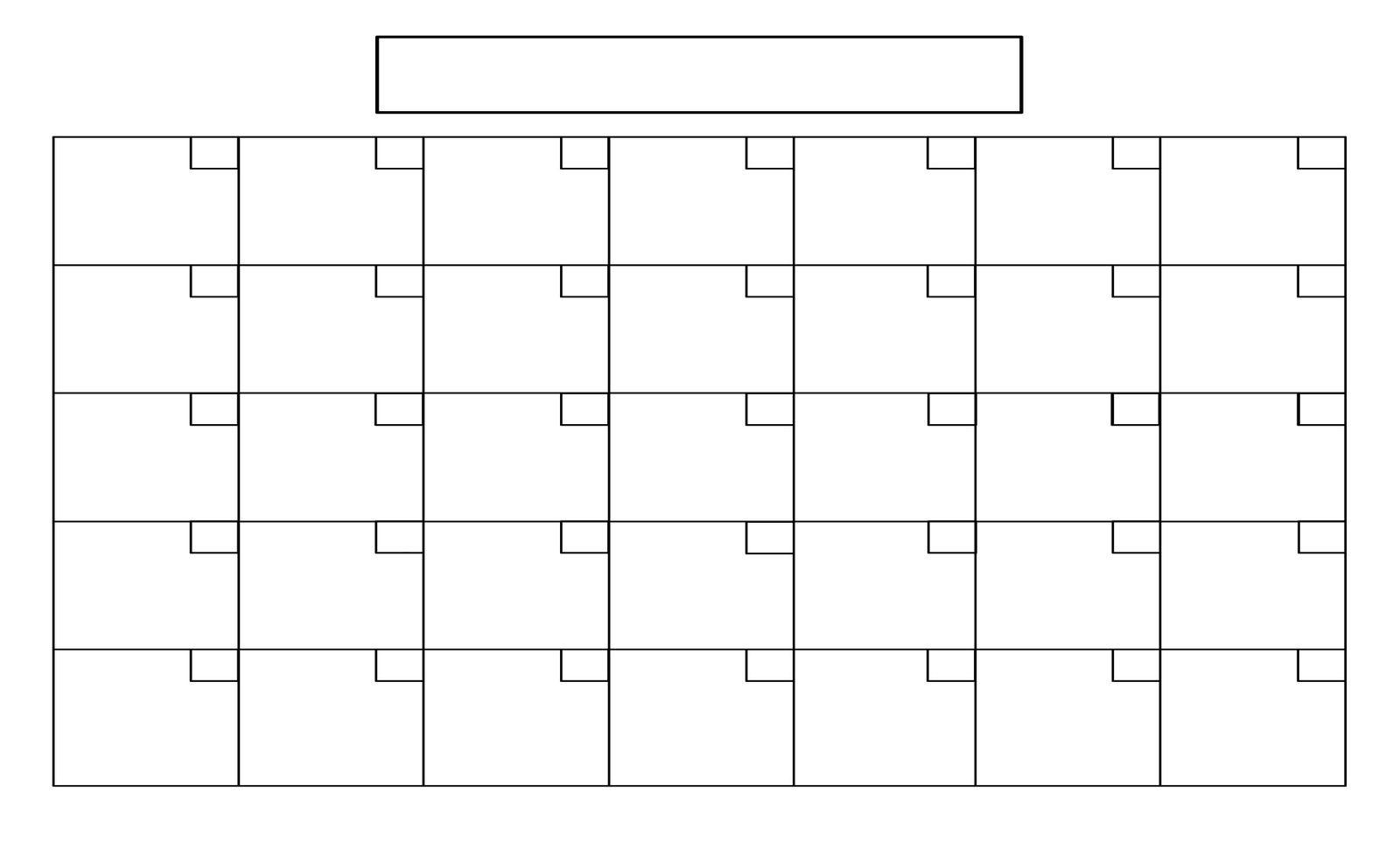 Printable+Full+Page+Blank+Calendar+Template