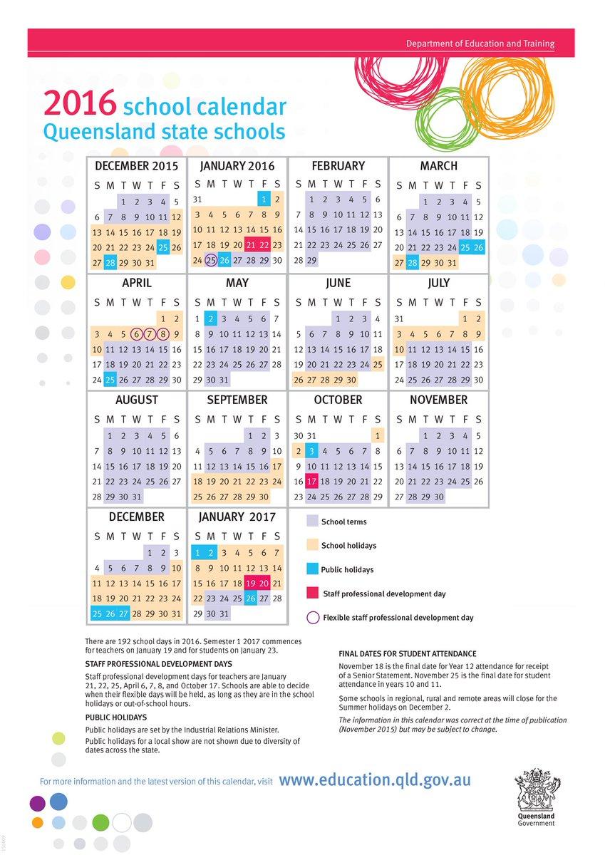 Qld School Holidays 2015 Pdf