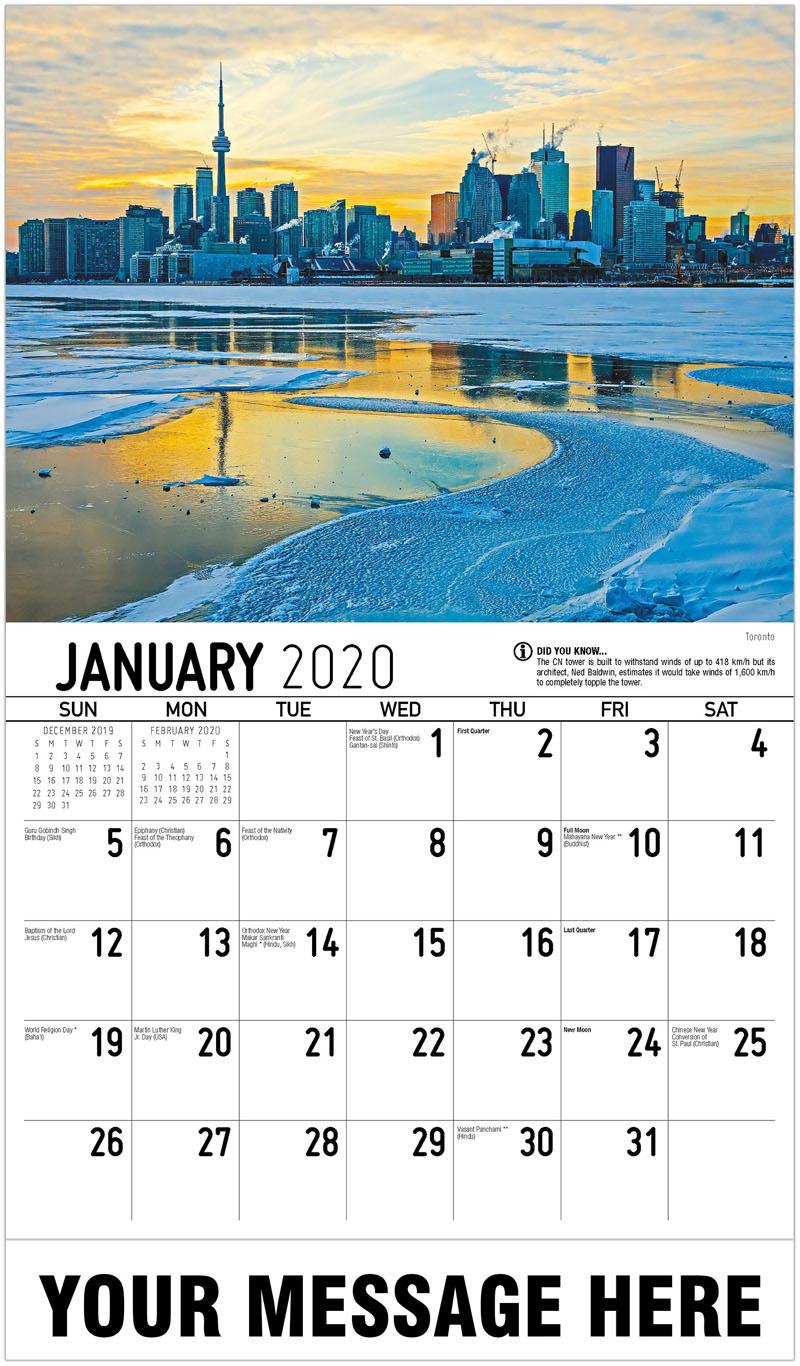 Scenes Of Ontario Calendar