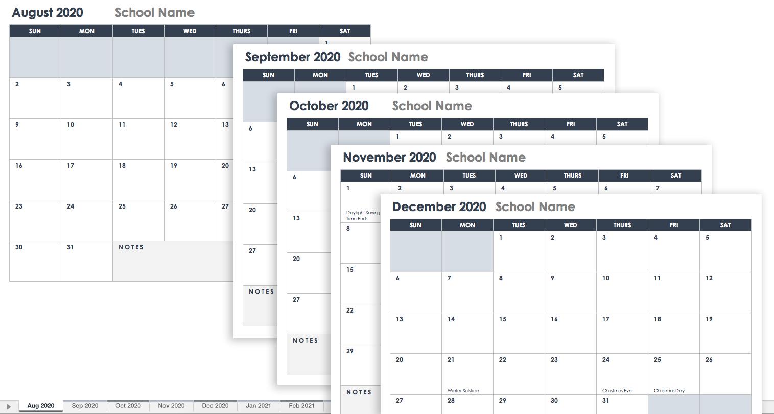 Schedule Template Blank Monthly Planner Free Google Calendar