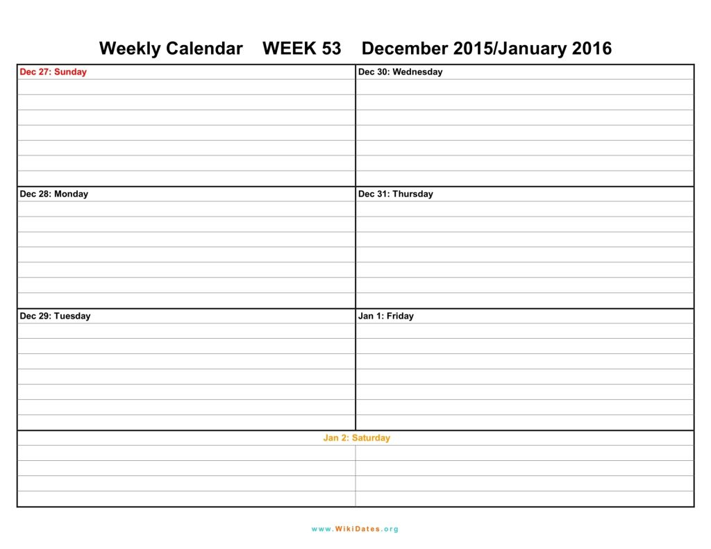 Schedule Template March Weekly Calendar Print Blank Outlook