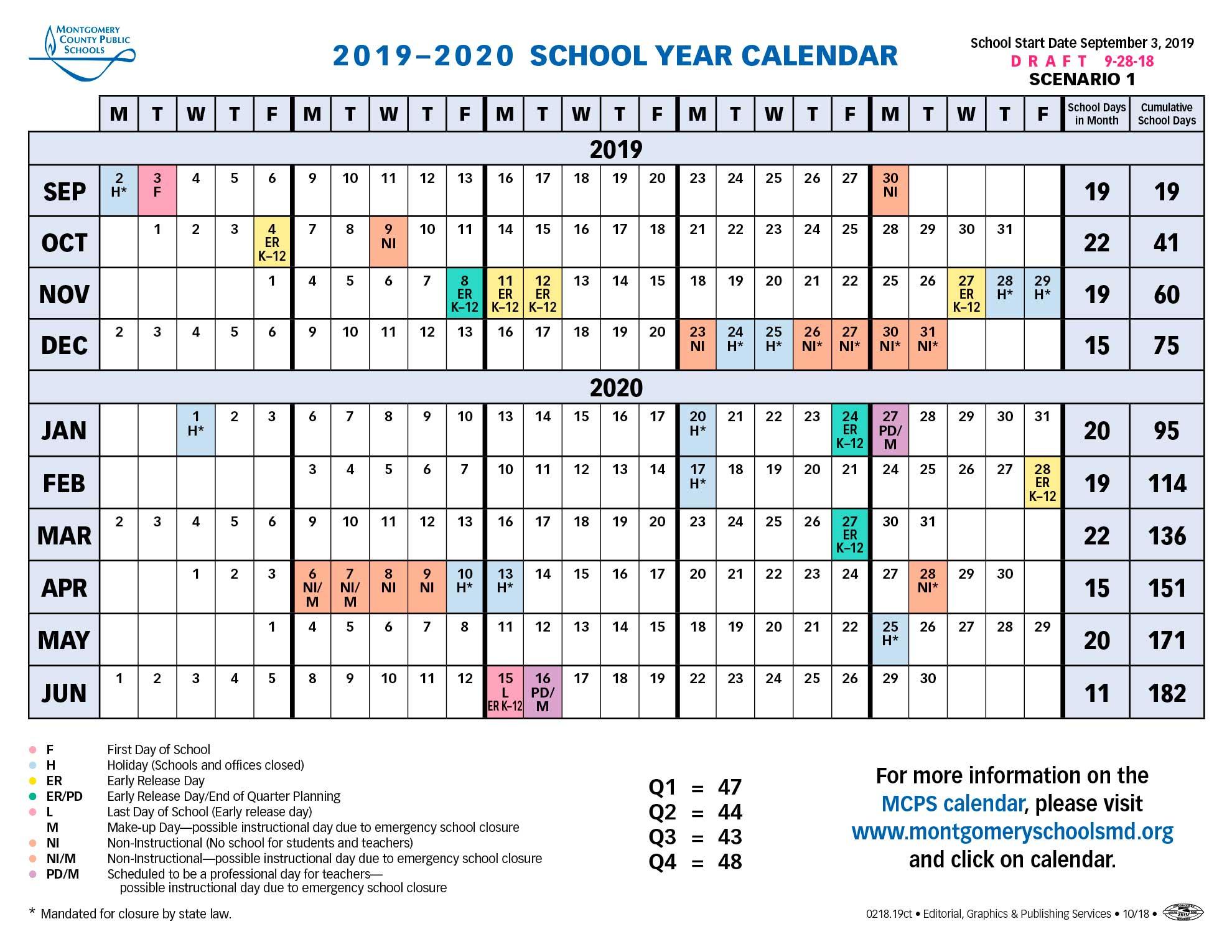 School Board Approves Longer Spring Break For 2019-2020 Calendar