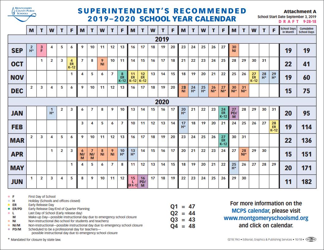 School Board To Vote On 2019-2020 School Year Calendar Tuesday