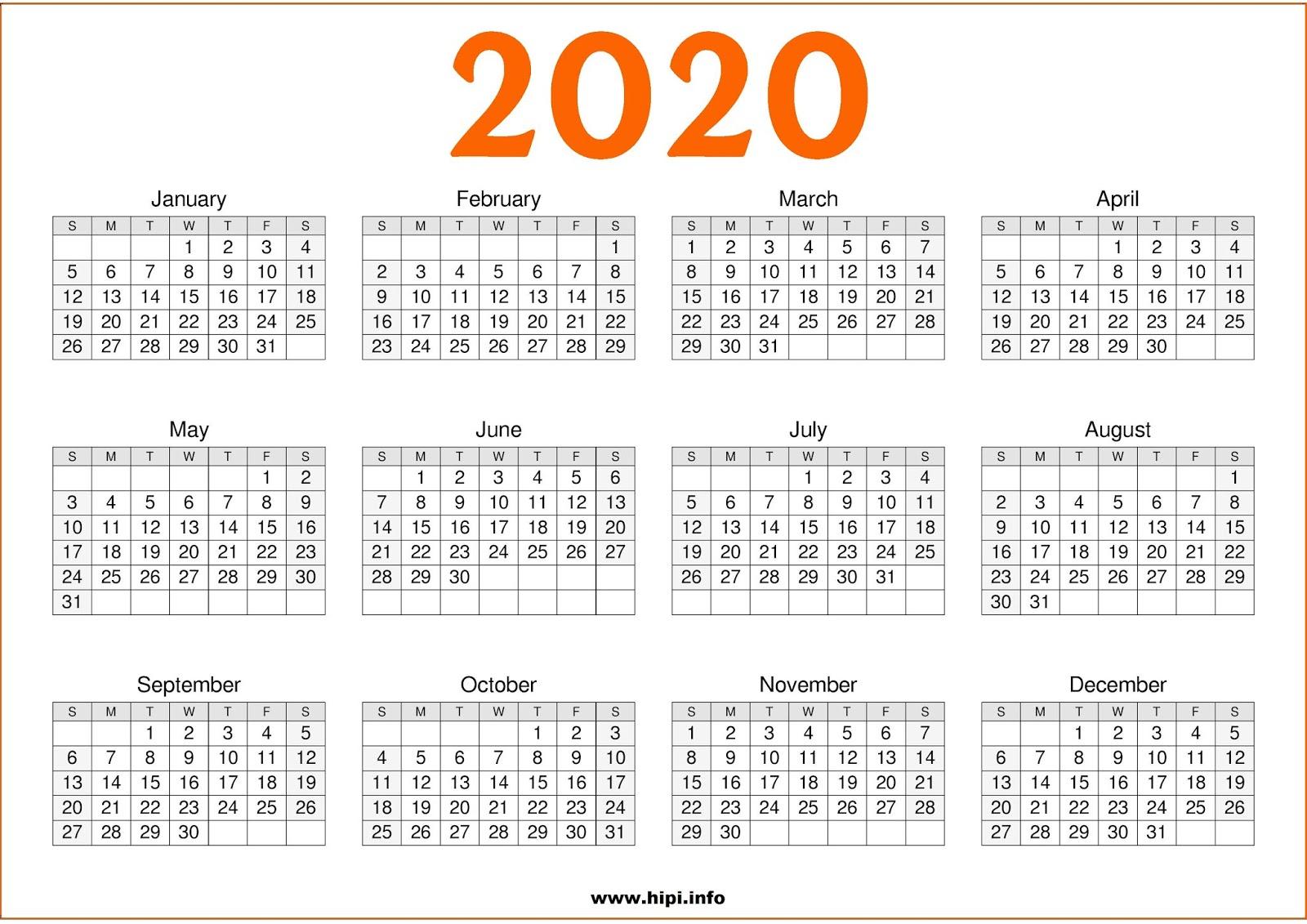 Twitter Headers / Facebook Covers / Wallpapers / Calendars: 2020
