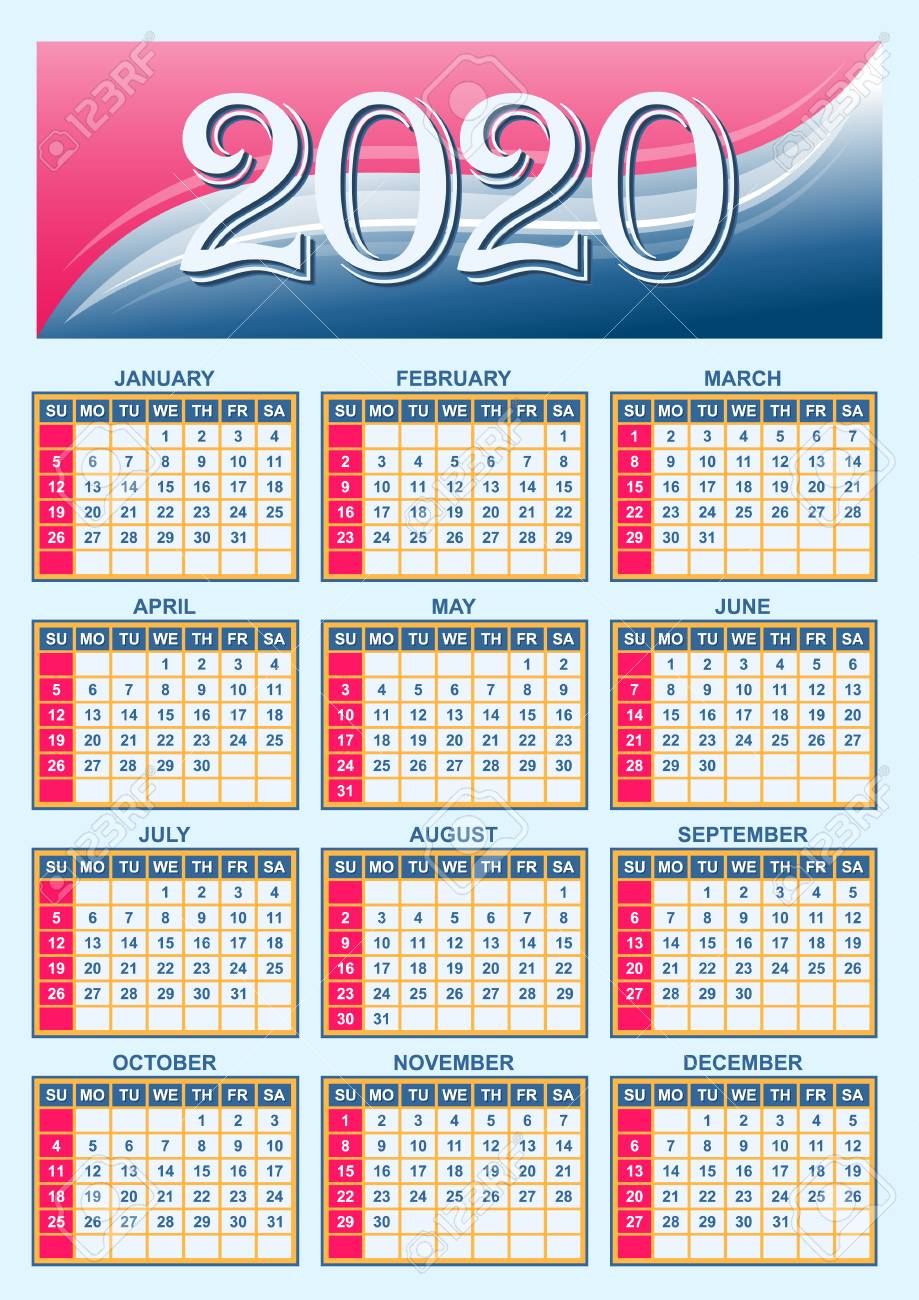 U.s. Calendar 2020