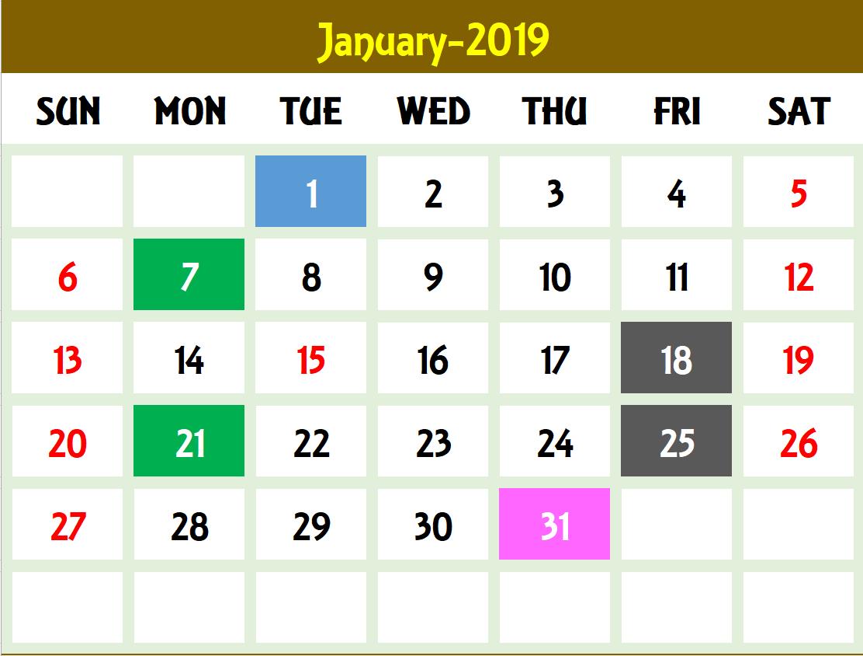View 2020 Calendar
