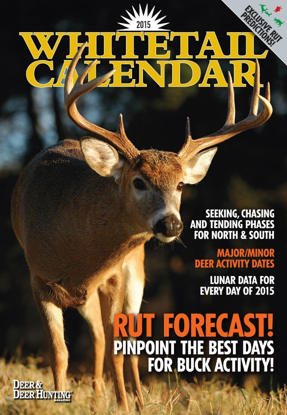2015 Whitetail Lunar Wall Calendar Download