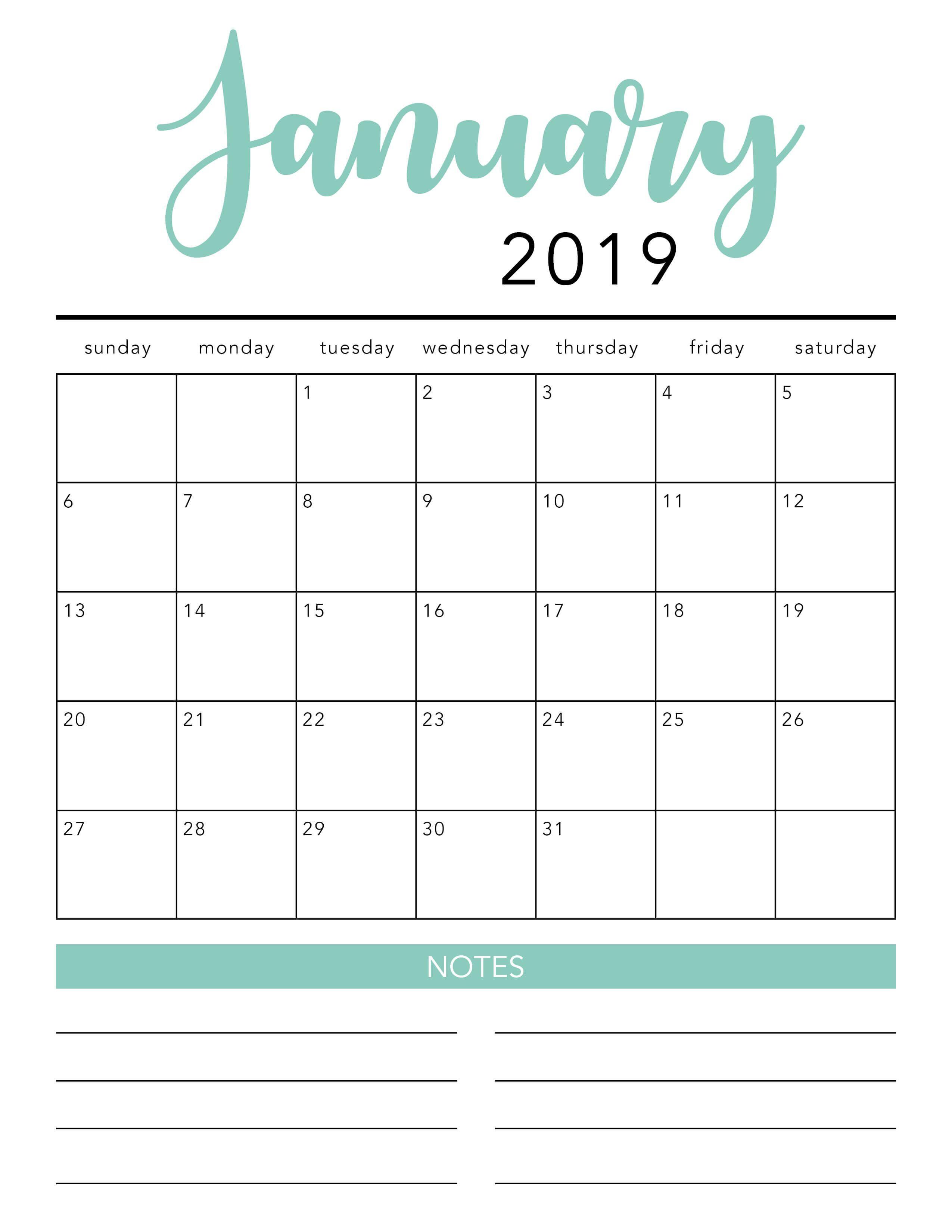 2020 Blank Calendar Monthly - Wpa.wpart.co
