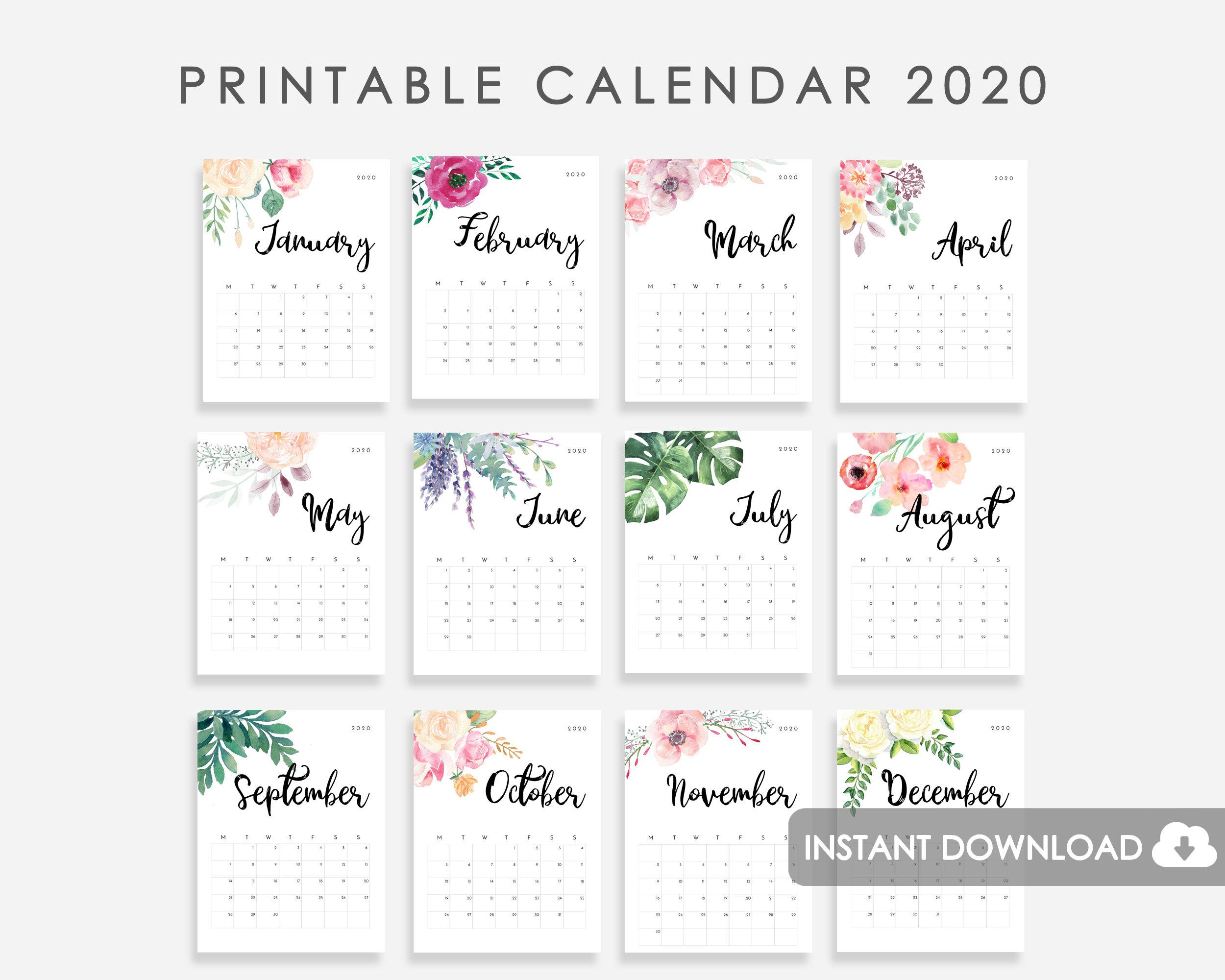 Календарь 2020 Г - Bagno.site