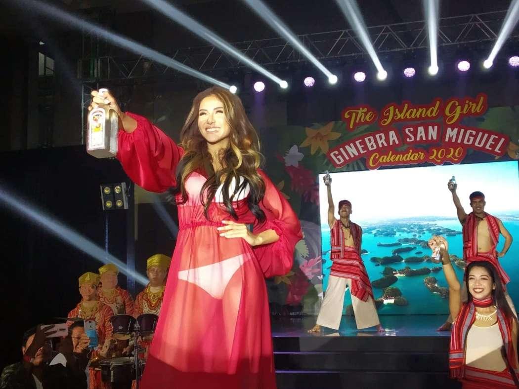 Ginebra San Miguel Reveals 2020 Calendar Girl : Sanya Lopez