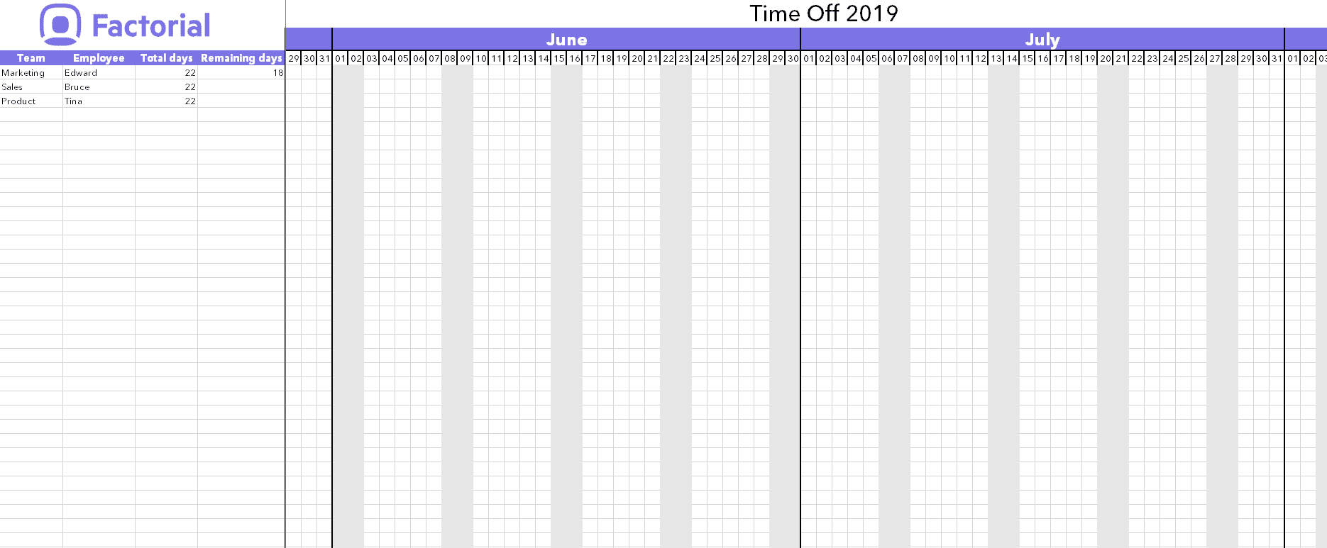 Manage Time Off Requests W/ Free Template