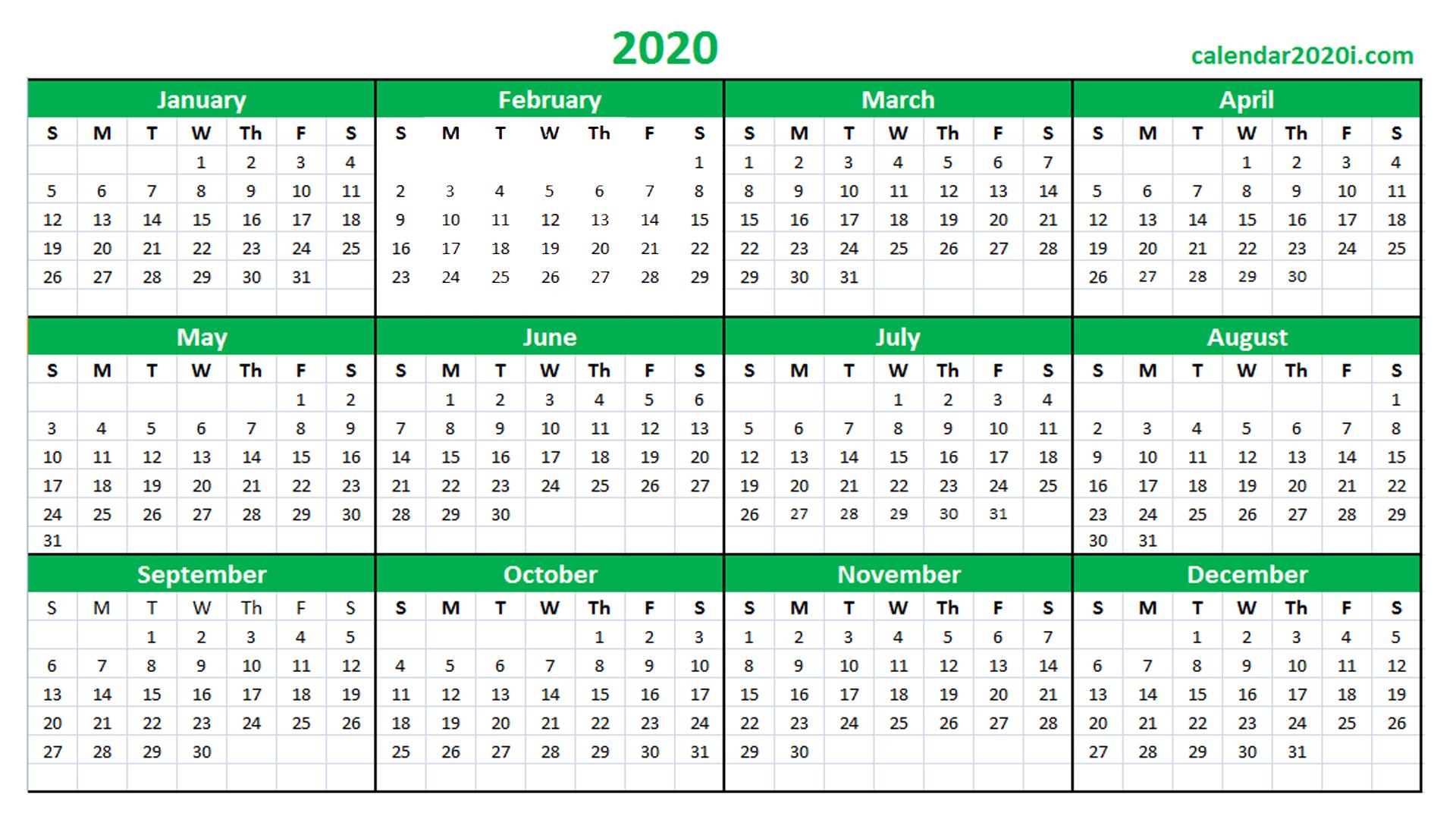 Qld School Calendar 2020 Printable