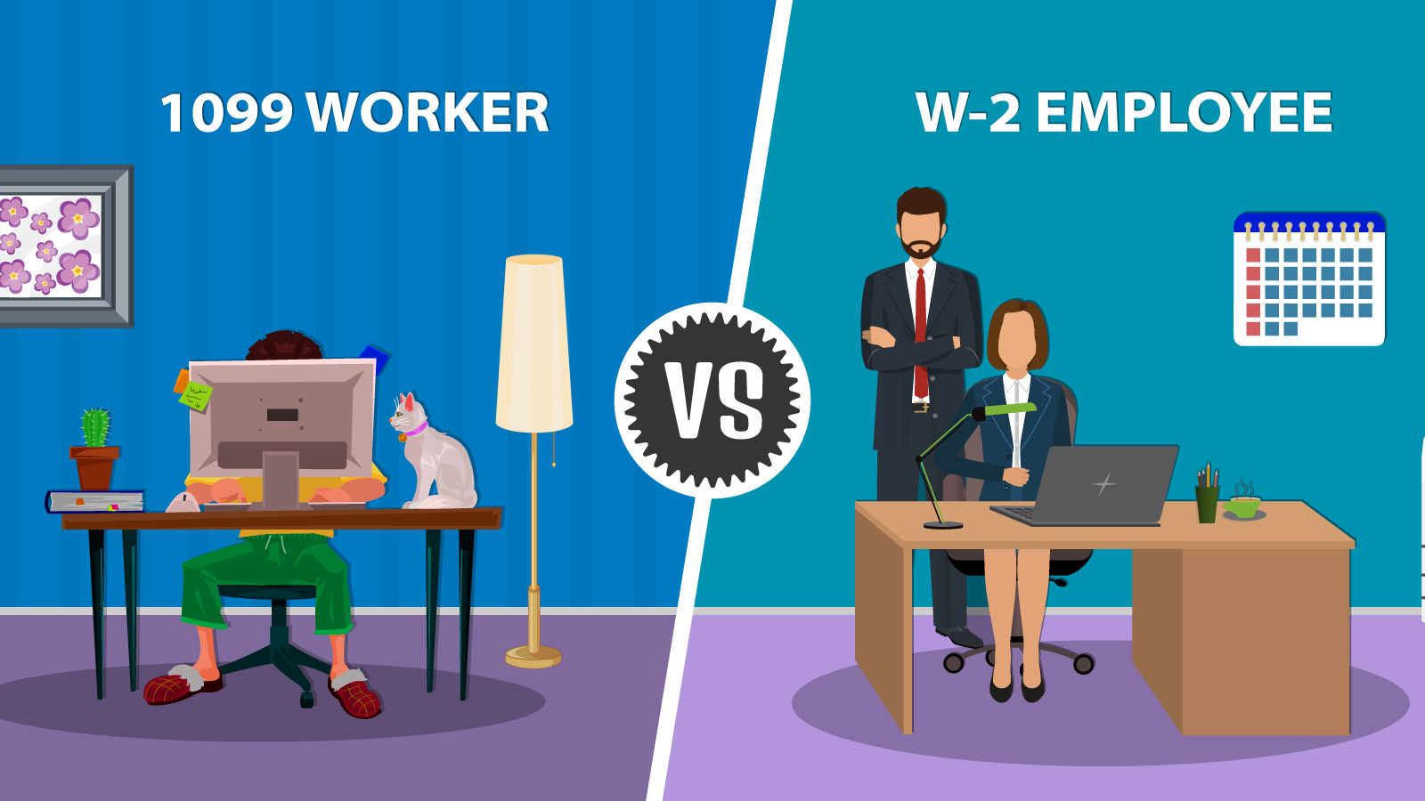 1099 Workers Vs. W-2 Employees In California: A Legal Guide