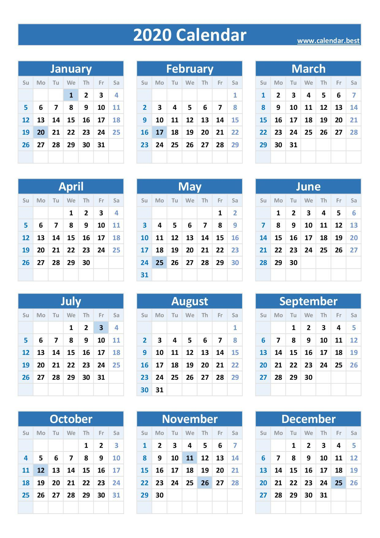2020, 2021, 2022, 2023 Federal Holidays : List And Calendars
