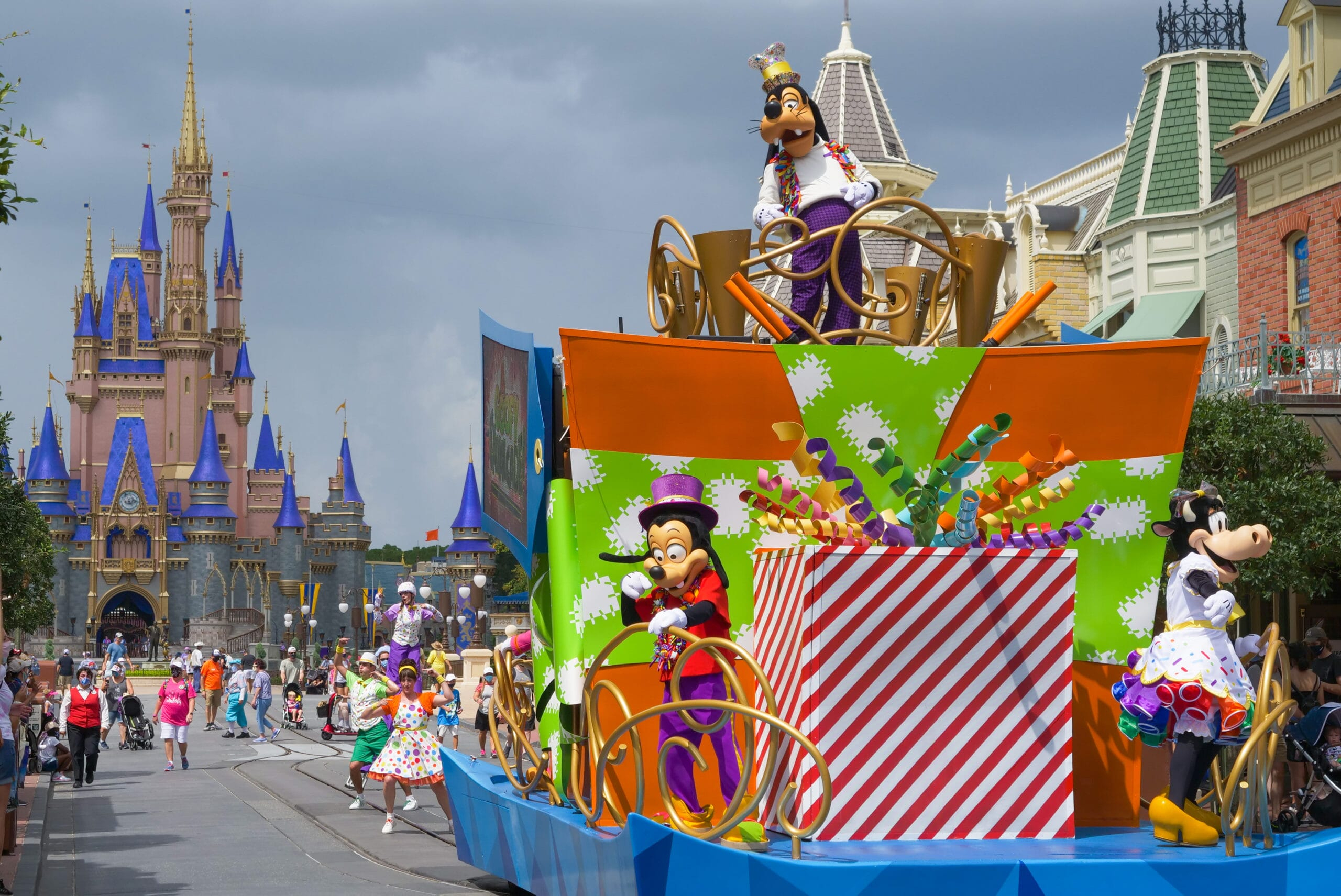 2021 Disney World Ride And Attractions By Park