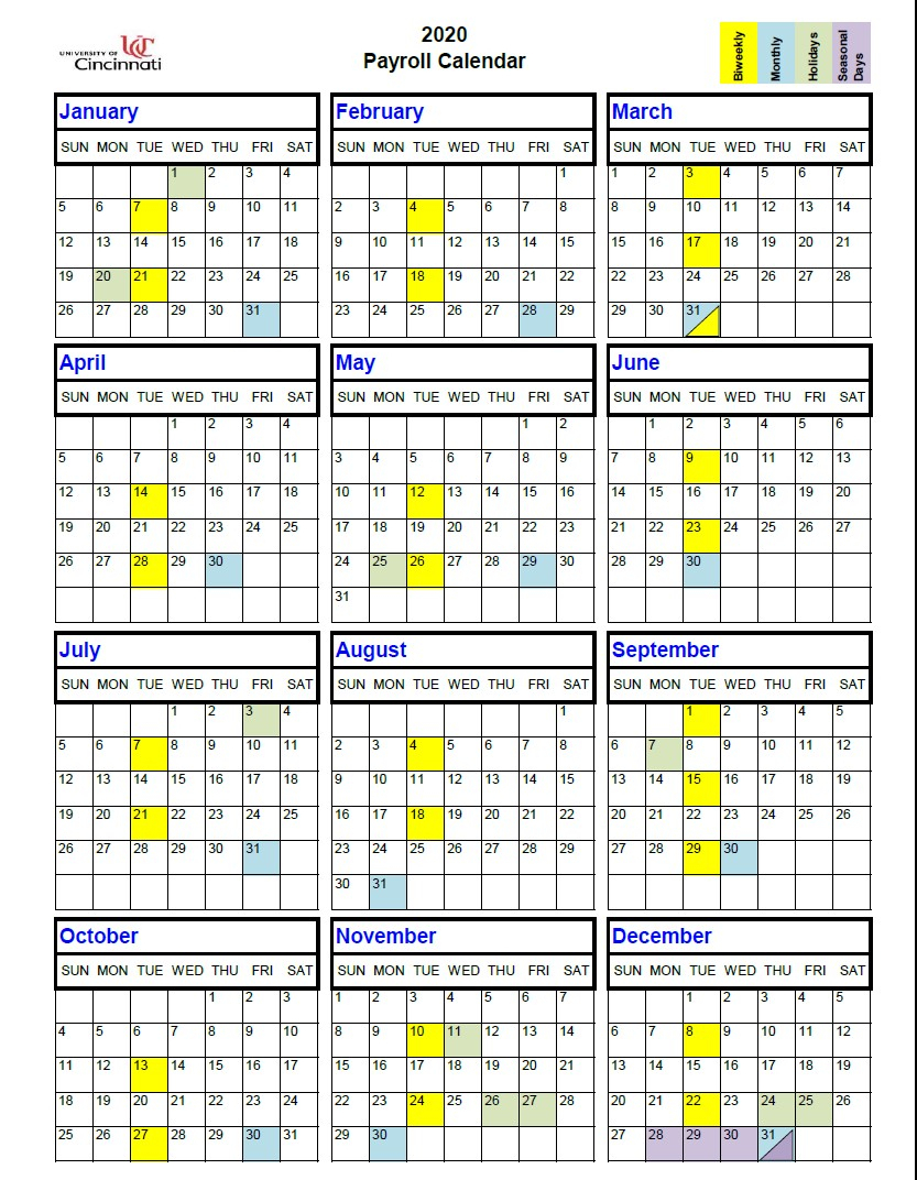 2021 Federal Pay Period Calendar Printable