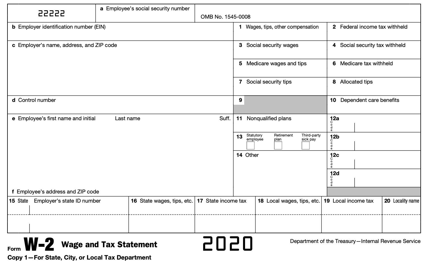 2021 W 9 Form Printable Free