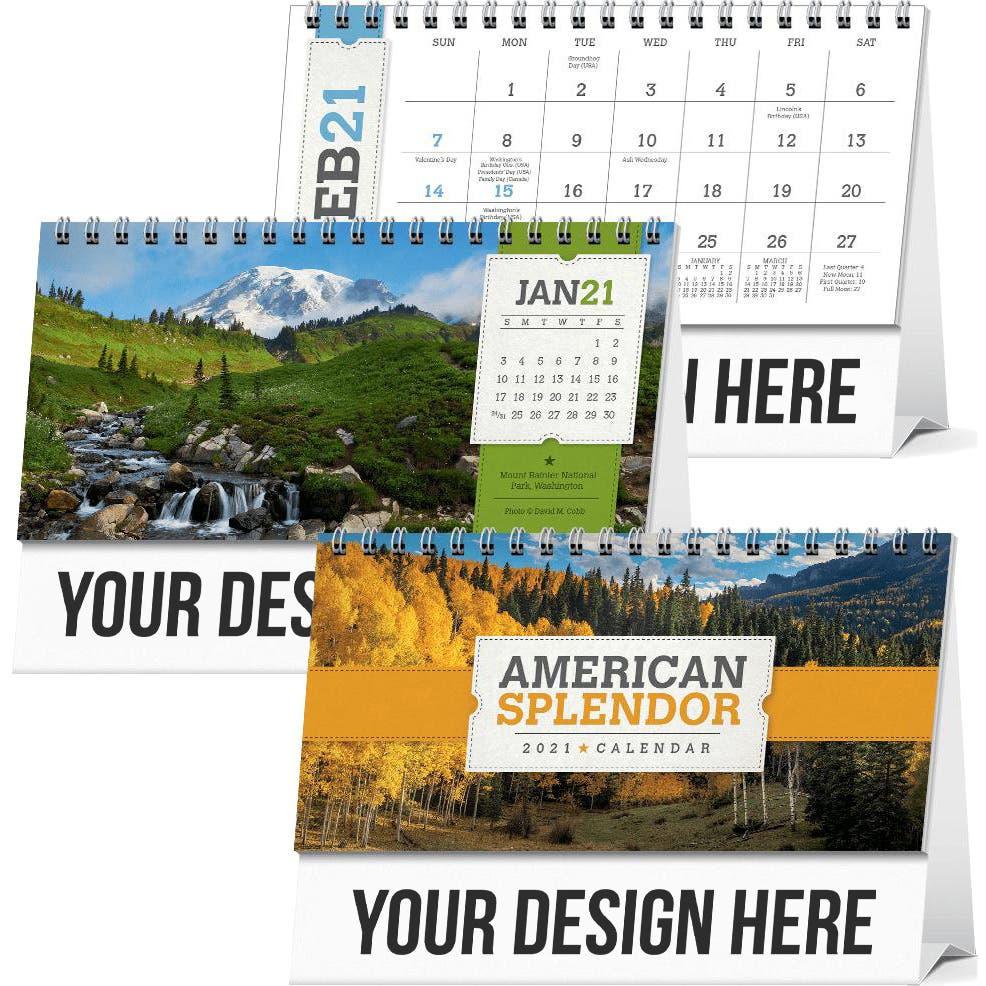 American Splendor Desk Calendar (2021)