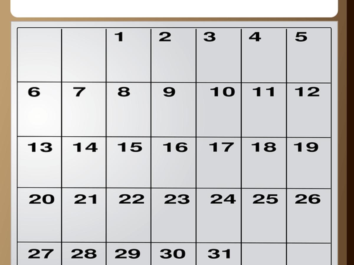 Calendario 2021 Juliano