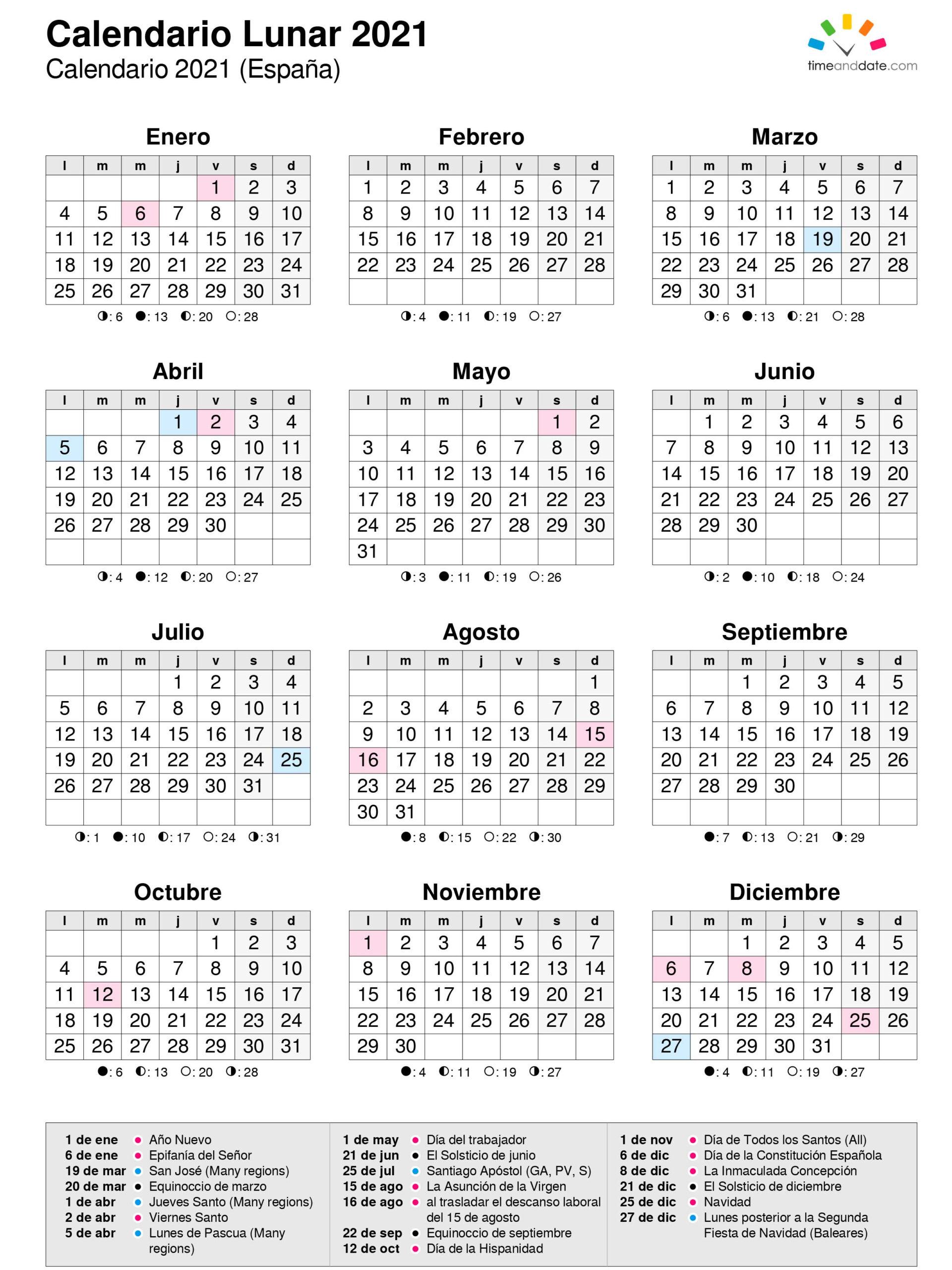 Calendario Juliano 2021