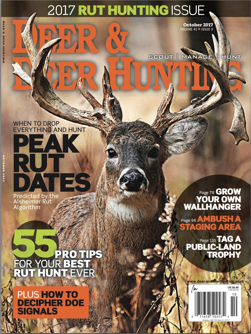 Deer & Deer Hunting Whitetail Lunar Calendar