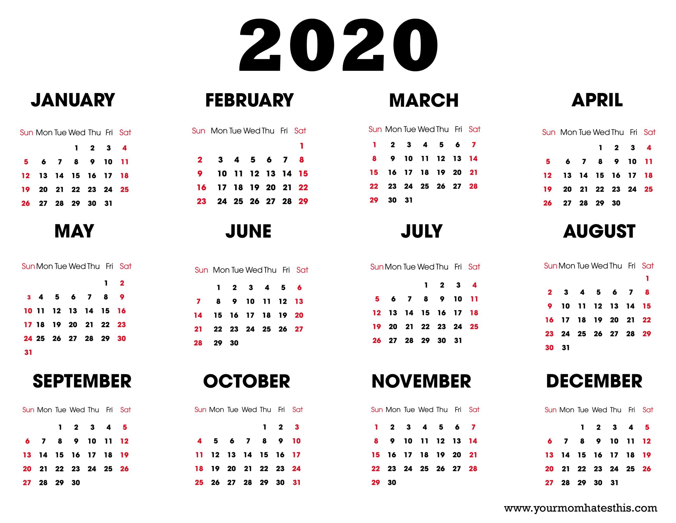 Depo Provera Leap Year Calendar 2021