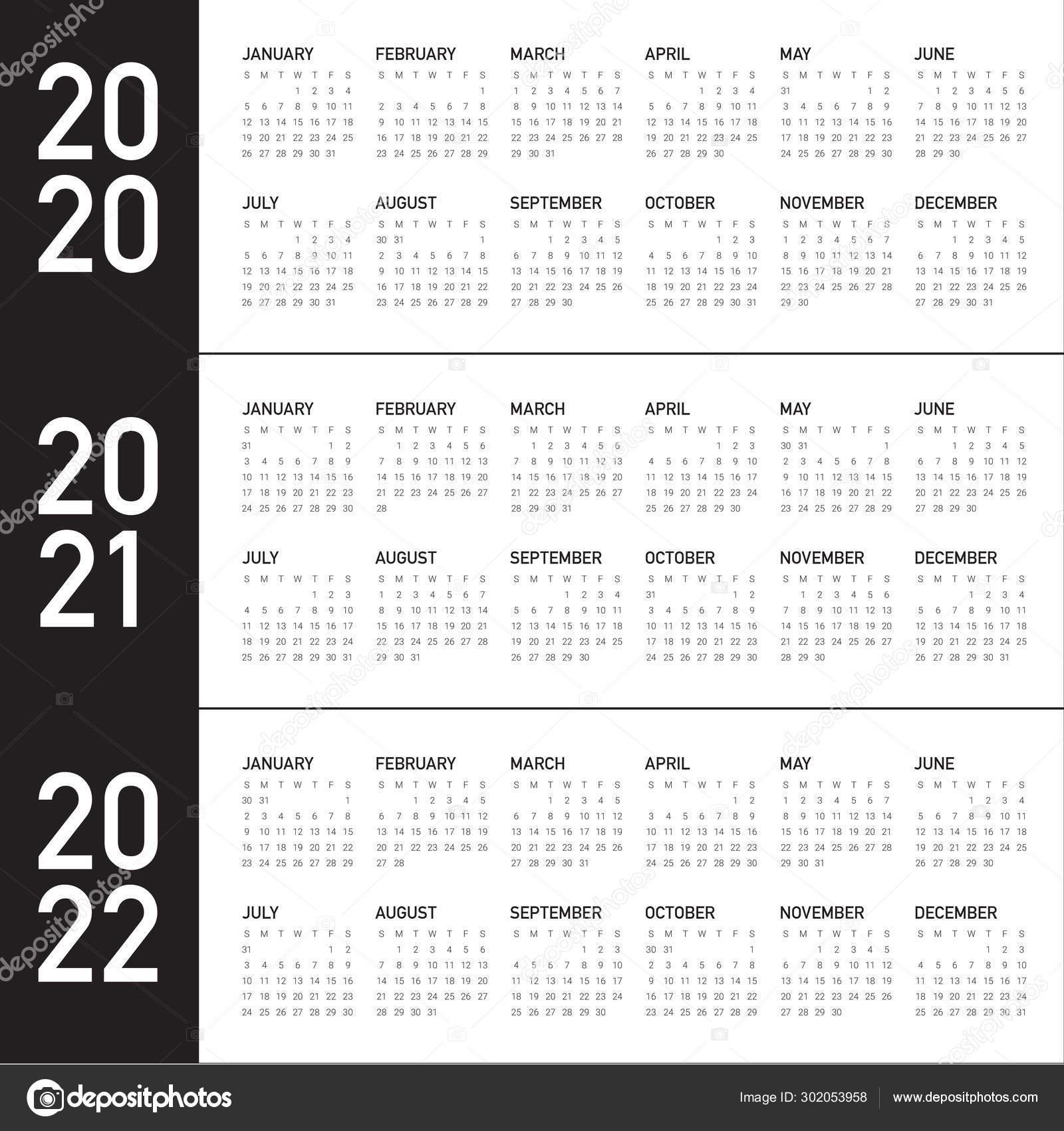 Depo Schedule Chart 2021