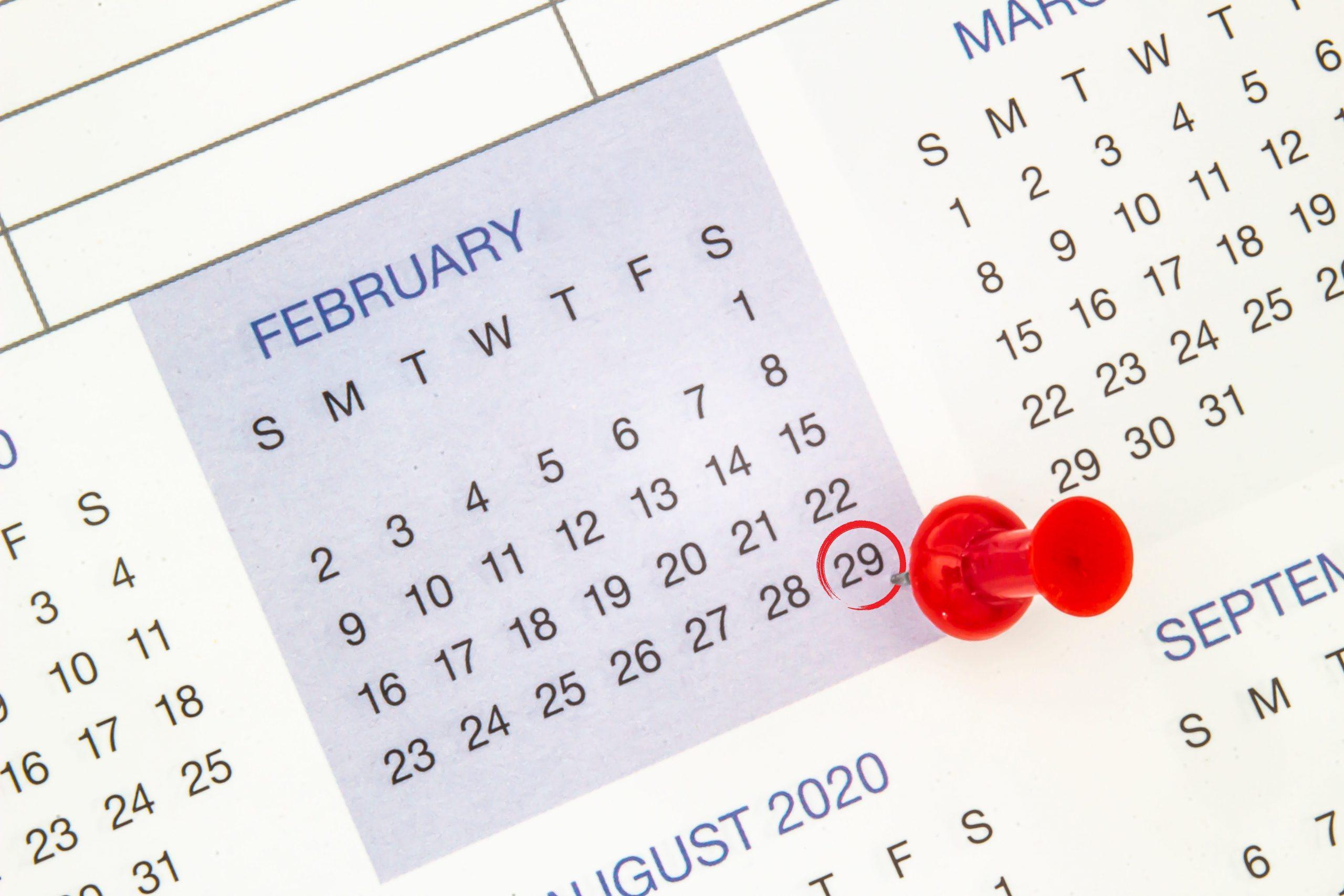 Depo Shot Schedule Leap Year 2021