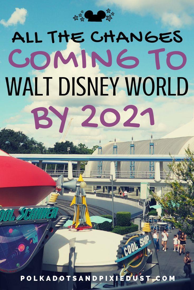 Disner World 2021 Park Ride List