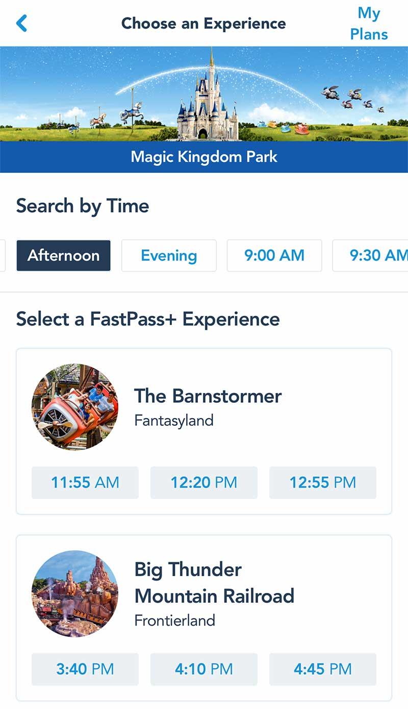 Disney Fastpass+ Faqs