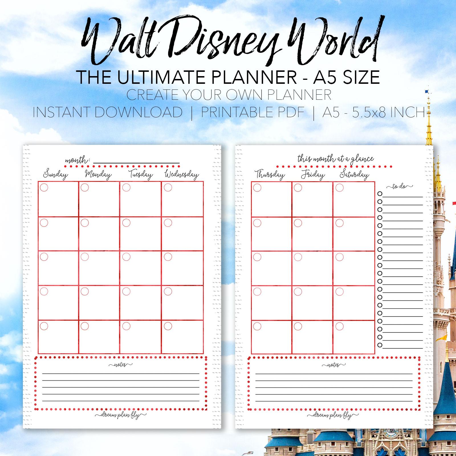 Disney Schedule 2021 Pdf