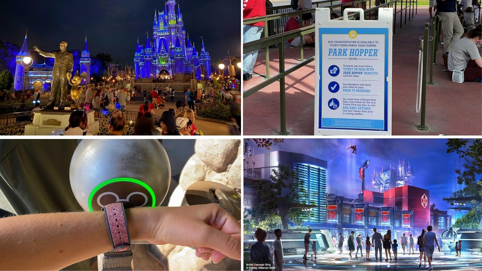 Disney World Ride Lists 2021