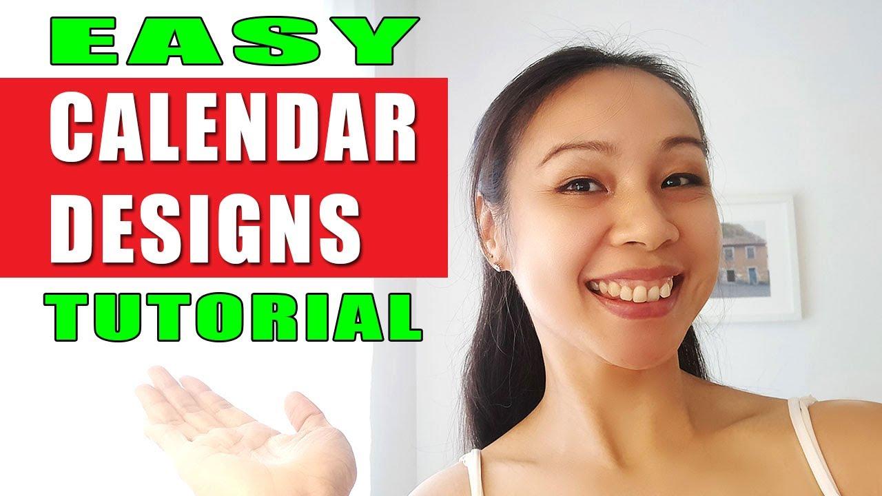 Easy Calendar Design With Calendar Wizard In Adobe Indesign For  Designers