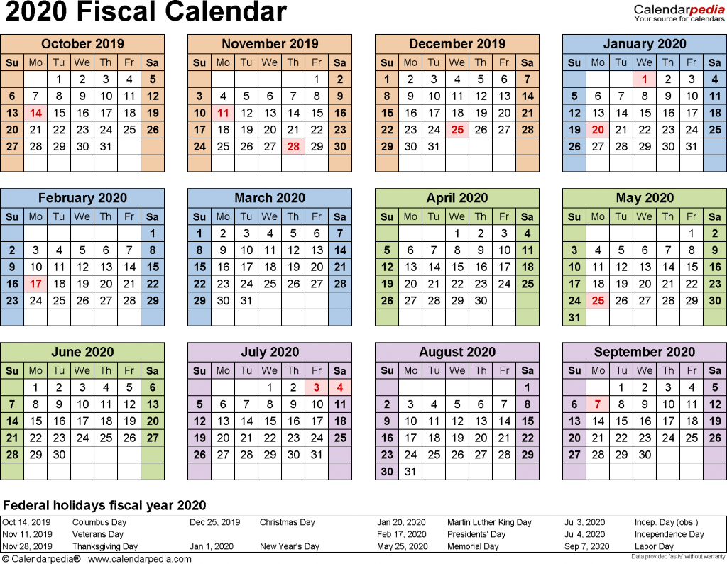 Federal Government Pay Period Chart Or 2021