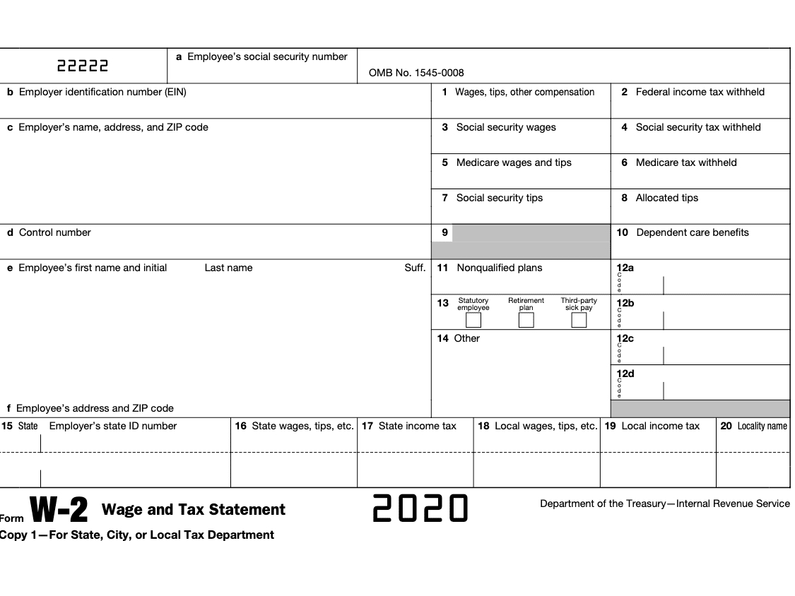 Form W-2: Understanding Your W-2 Form