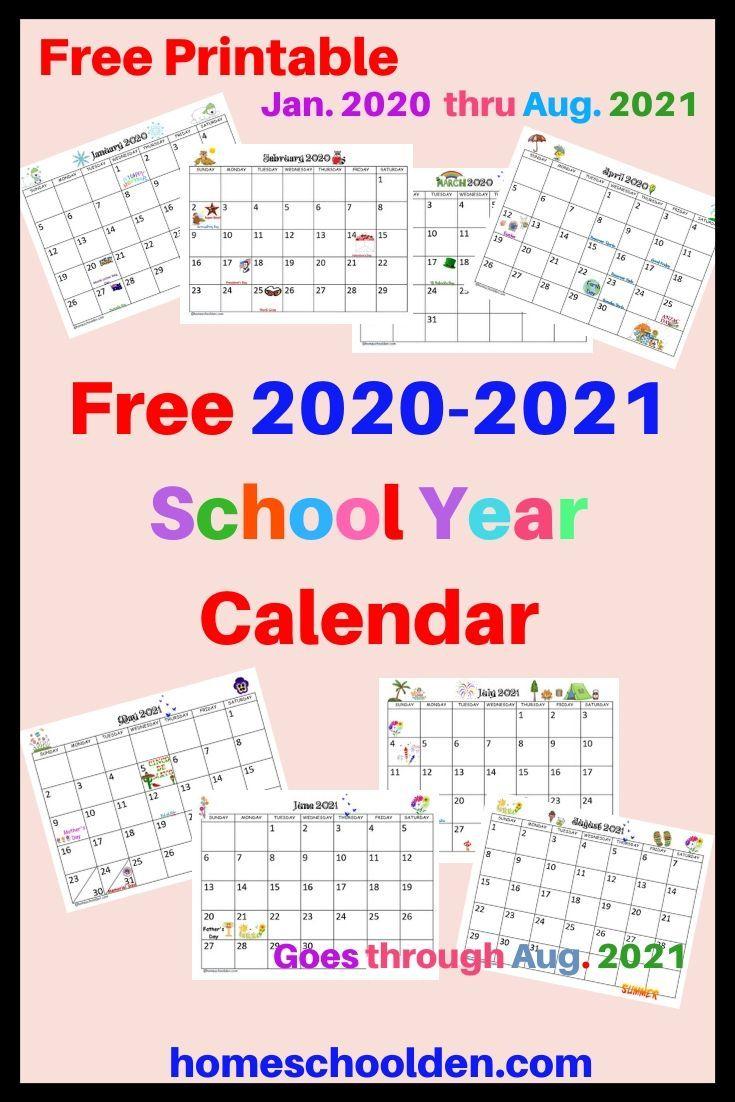 Free Blank Calendar Template 22021 Printable
