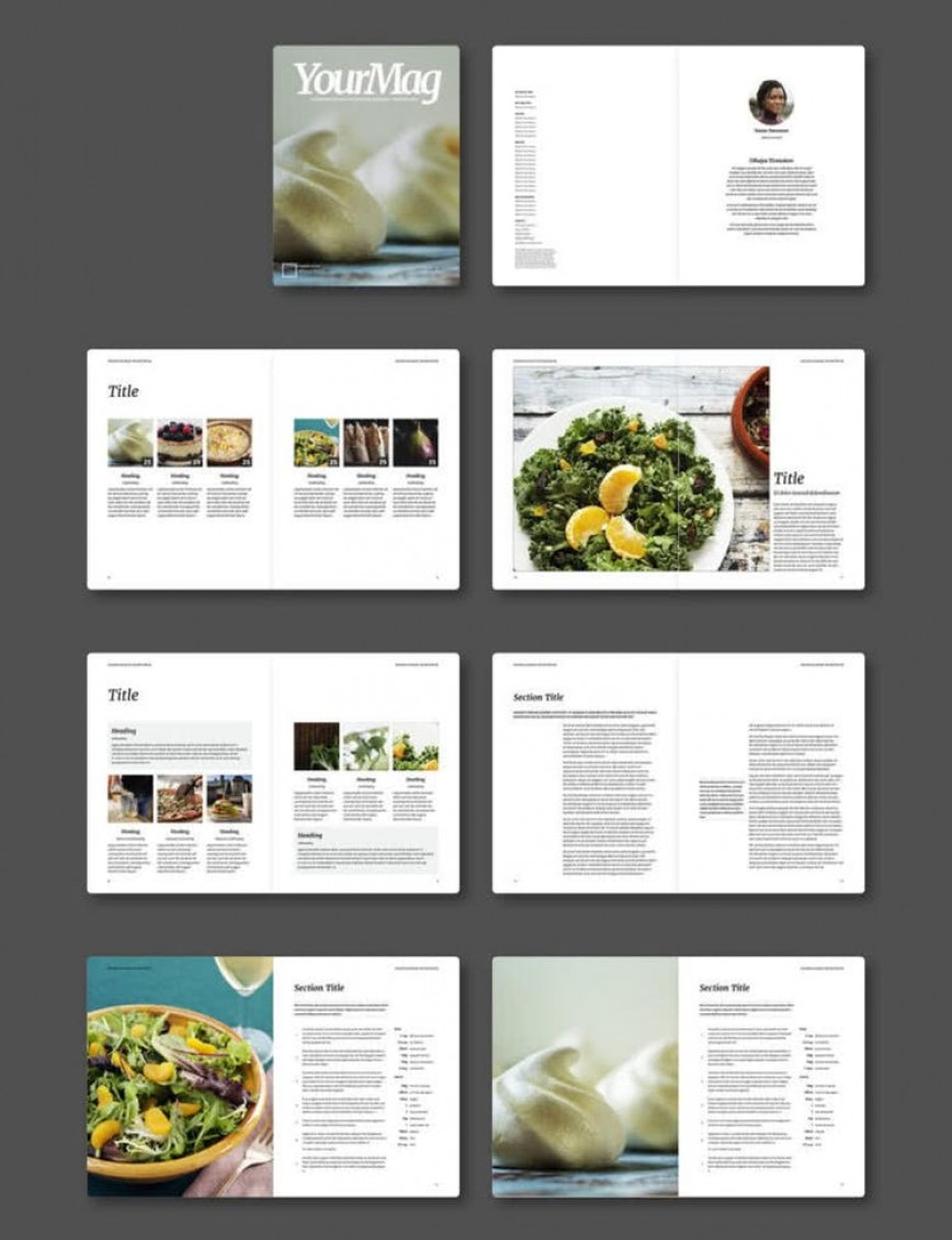 Free Indesign Template Download ~ Addictionary