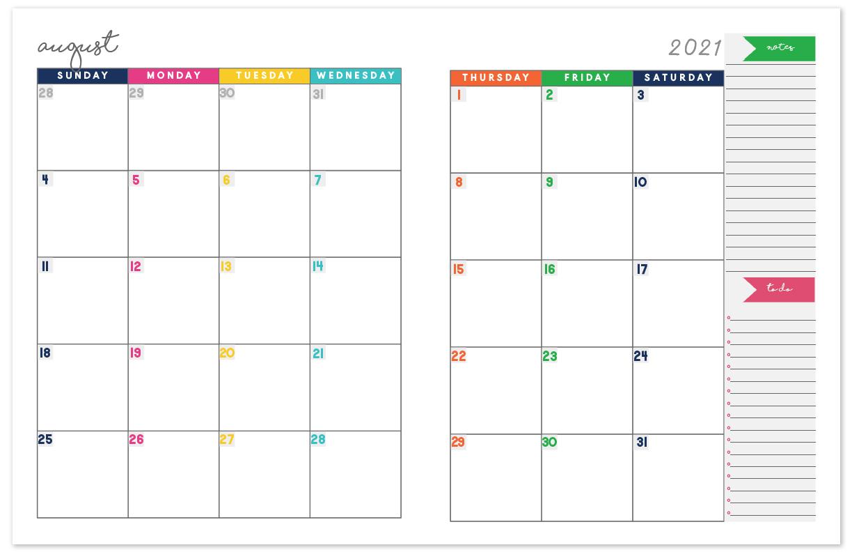 Free Printable Calendar 2021 Monthly